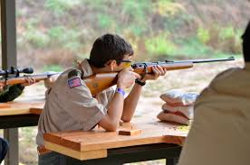 Shooting Sports are offered at summer camp